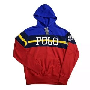Polo Ralph Lauren P-93 Spell Out Hoodie Sweater
